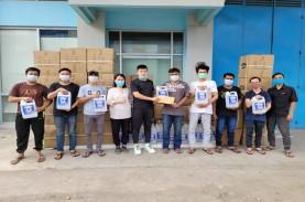 Pengusaha Muda Asal Palembang Bagikan Hand Sanitizer…