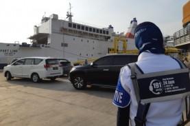 Hingga H-2 Natal, Penyeberang ke Sumatera dari Jawa…