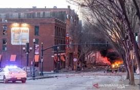 Ledakan Mobil saat Natal di Tennessee, Diawali Ada Nada Peringatan