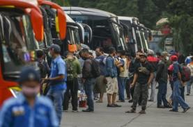 Penumpang Bus di Kampung Rambutan Turun 79 Persen