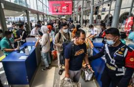 KAI Pastikan Sehat, 79.694 Penumpang Kereta Keluar Jakarta