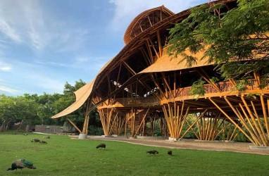 Paviliun Indonesia di Guangzhou China, Kental Nuansa Bali