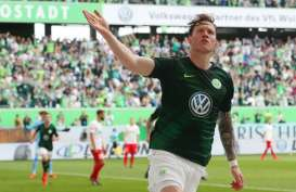 Tottenham Berminat, Wolfsburg Siap Lepas Weghorst 35 Juta Eruo
