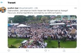 Ribuan Warga Penuhi Pemakaman Habib Hasan Assegaf,…