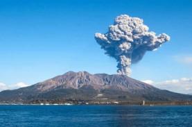 Letusan Vulkanis Terjadi di Suwanosejima Jepang