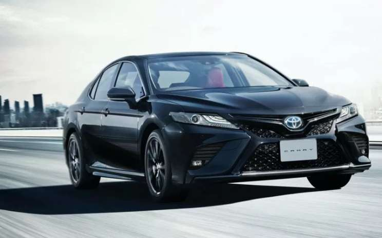 Toyota Camry Black Edition.  - ANTARA/CarsCoop