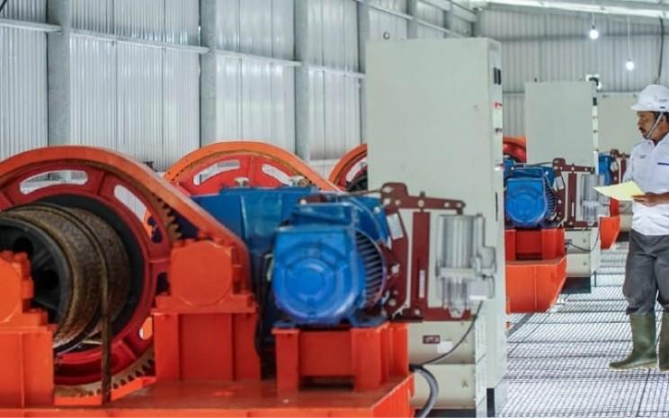 PLTA air putih yang dioperasikan PT Kencana Energi Lestari Tbk - kencanaenergy.com