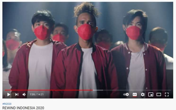 Youtube Rewind Indonesia 2020  -  Tangkapan layar Youtube.