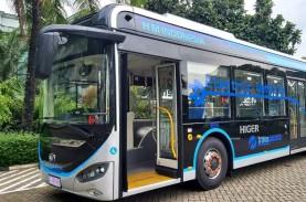 Higer Pamer Bus Listrik Kapasitas Besar untuk Transjakarta
