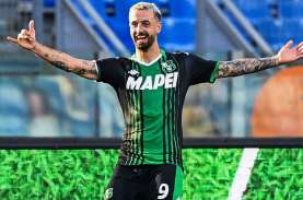 Pemain Sassuolo Francesco Caputo Striker Paling Efisien…