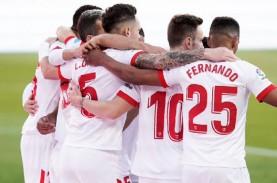 Hasil La Liga Spanyol, Sevilla Libas Villarreal