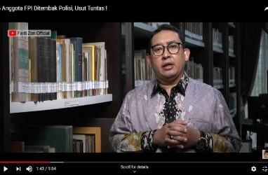 FPI Dibubarkan, Fadli Zon: Pembunuhan Terhadap Demokrasi!