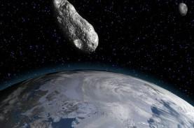 Tahun Baru, Asteroid Seukuran 2 Kali Bis Tingkat Dekati…