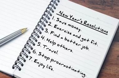 Lakukan 4 Hal Ini Agar Resolusi Tahun Baru dapat Terwujud