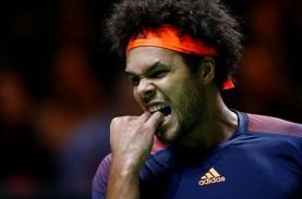 Tsonga Ikuti Federer Mundur dari Tenis Australia Terbuka