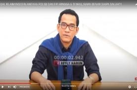 FPI Dibubarkan, Refly Harun: Keputusan Pemerintah…
