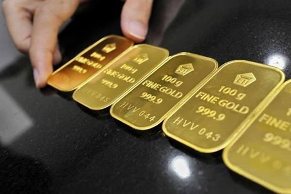 Harga emas berjangka naik di Divisi COMEX New York Mercantile Exchange. - Antara