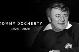 Mantan Pemain Arsenal & Pelatih MU Tommy Docherty…