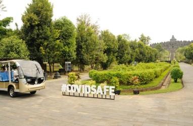 Ada Covid-19, Jumlah Pengunjung Candi Borobudur Menurun Drastis