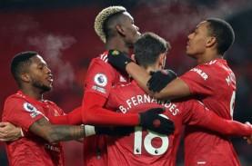 Hasil Liga Inggris : MU Sikat Villa, West Ham Hentikan…