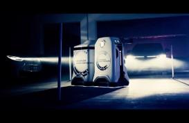 Volkswagen Pamerkan Robot Charger Mobil Listrik, Diperintah Lewat HP