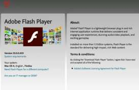 Adobe Flash Player Tamat Riwayat Mulai 12 Januari