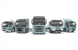 2021, Volvo Pastikan Rangkaian Truk Berat Listrik Lengkap