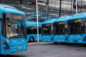 Bus Gandeng Listrik Volvo 7900, Simak Proses Produksinya