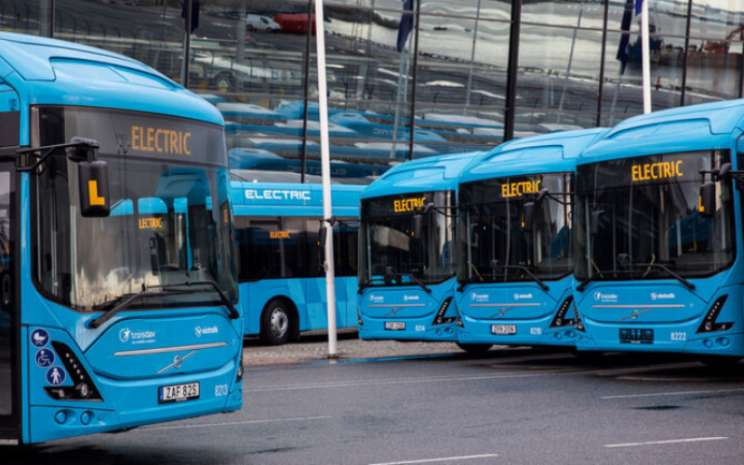 Volvo 7900 Electric Articulated.  - Volvo Bus