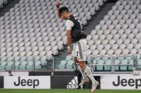 Cetak 2 Gol Lagi untuk Juventus, Ronaldo Lewati Legenda…