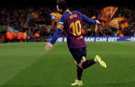 Kapten Barcelona Lionel Messi Catatkan Rekor 500 Pertandingan La Liga
