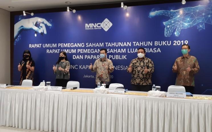 Rapat Umum Pemegang Saham Tahunan (RUPST) PT MNC Kapital Tbk Tahun Buku 2019 - Istimewa