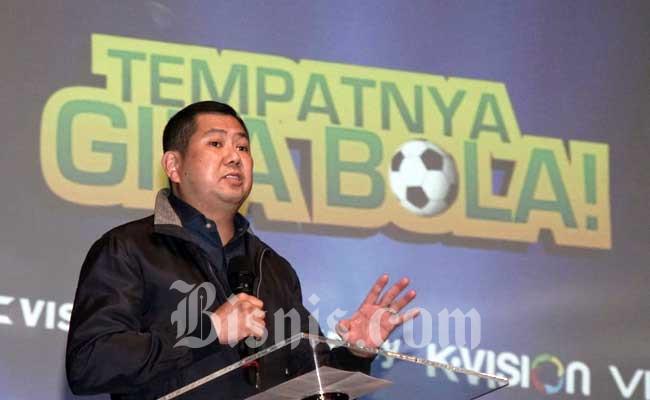 Executive Chairman MNC Group Hary Tanoesoedibja. Bisnis - Himawan L Nugraha