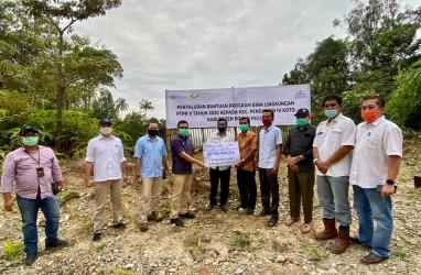 PTPN V Bantu Jalan Masyarakat : Seperti Air di Padang Pasir