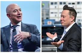 Jeff Bezos dan Elon Musk Pecahkan Rekor Kekayaan pada 2020