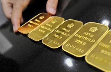 Dolar AS Melemah, Emas Sentuh Level Tertinggi Dua Bulan Terakhir