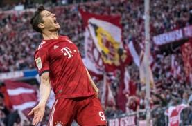 19 Gol, Striker Munchen Lewandowski Makin Mantap Top…
