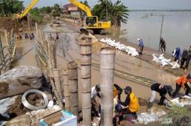 BBWS Pemali Juana Mulai Perbaiki Tanggul Sungai Gelis