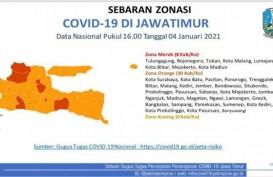 8 Kabupaten/Kota di Jatim Zona Merah Covid-19