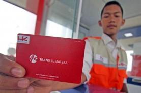 1,14 Juta Kendaraan Lalu-lalang di Tol Trans-Sumatra…