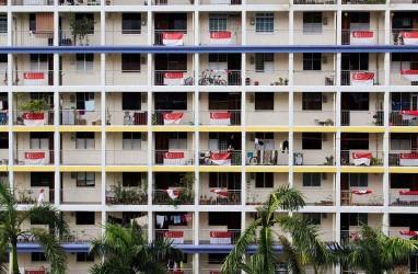 Harga Jual Hunian HDB Singapura Naik 2,9 Persen