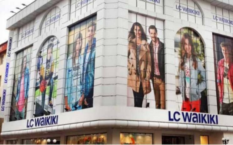 Toko fesyen LC Waikiki asal Turki./https://fashionunited.uk -