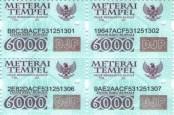 Simak! Tiga Cara Menggunakan Meterai Rp3.000 dan Rp6.000