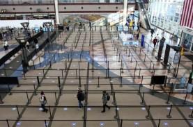 Penumpang di Bandara AS Terpangkas 500 Juta pada 2020