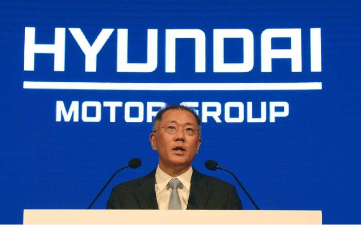 Chairman Hyundai Motor Group (the Group) Euisun Chung.  - Hyundai