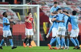 ManCity Tundukkan Manchester United, ke Final Piala Liga vs Tottenham