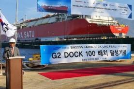 Selesai Dibangun di Korsel, Kapal FSRU Jawa Satu Menuju…