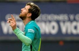 Cetak 2 Gol vs Bilbao, Bintang Barcelona Messi Ikut Top Skor La Liga