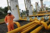 Volume Gas Bumi untuk Harga Gas Khusus Mencapai 2.601 BBtud