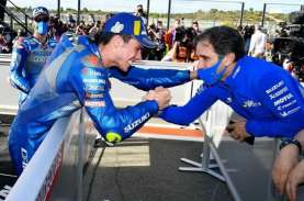 Tim MotoGP Tim Suzuki Ecstar Resmi Melepas Davide…